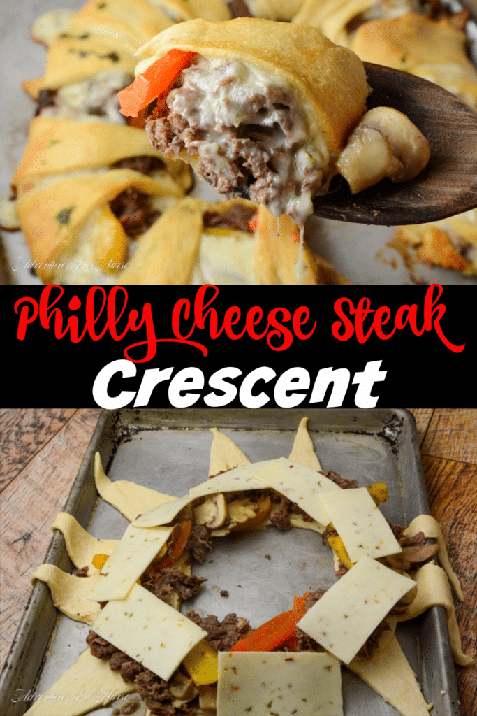 philly cheese steak crescent