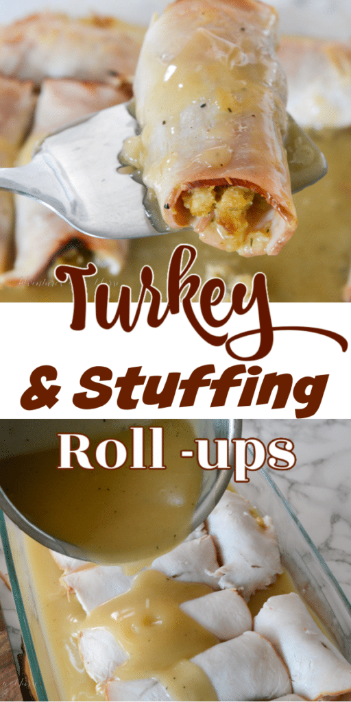 Turkey and Stuffing Roll up