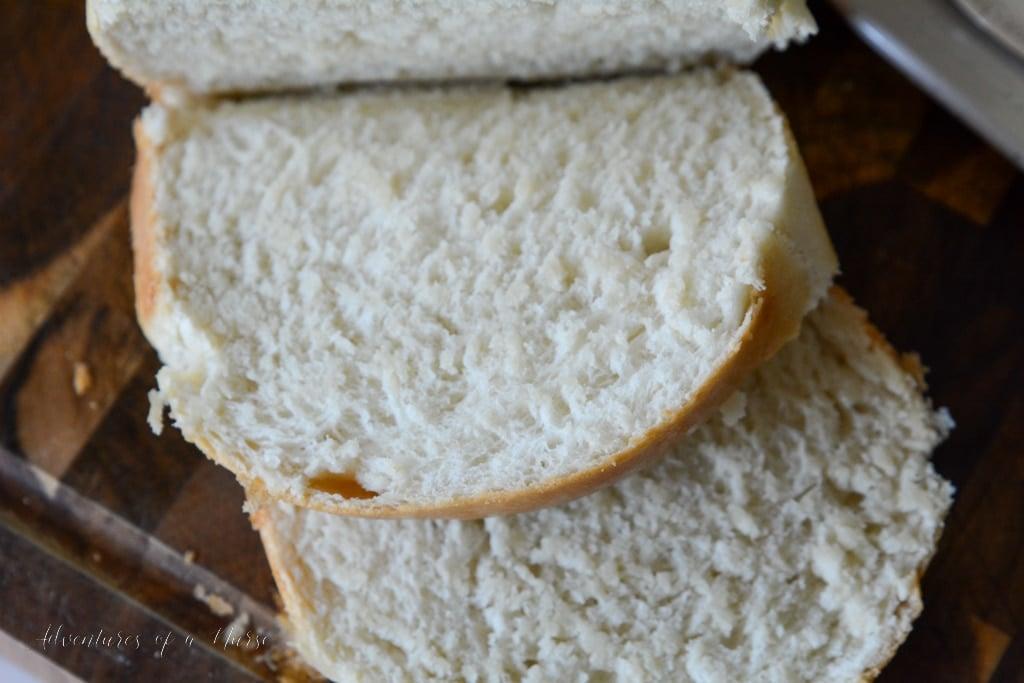 Amish White Bread Slice