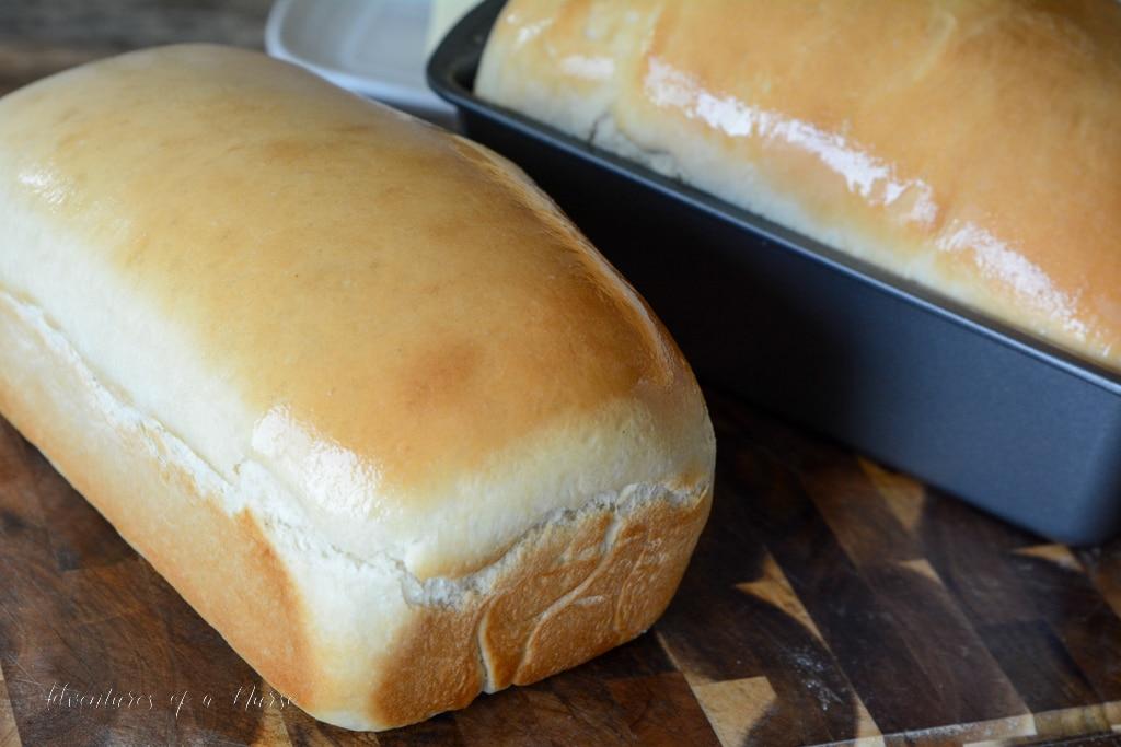 Homemade Amish White Bread