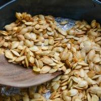 Pumpkin Seeds Roasted in air fryer