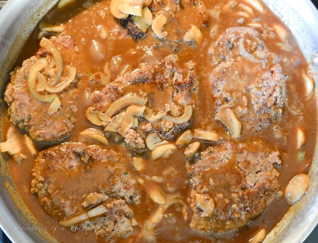 Add Steaks back to pan