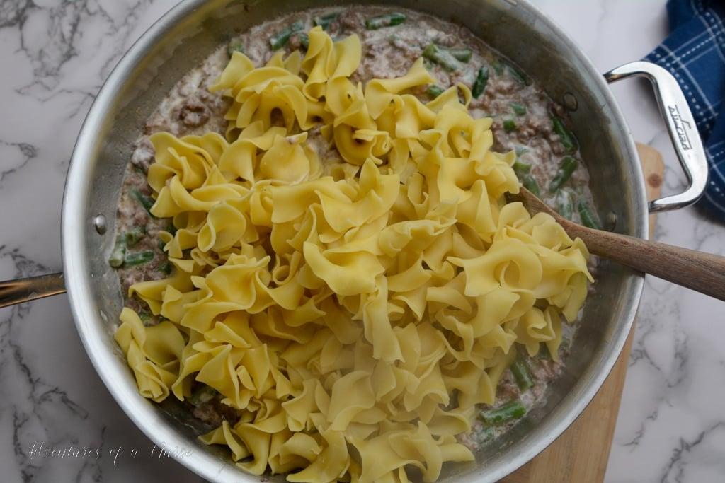 Egg Noodles for casserole