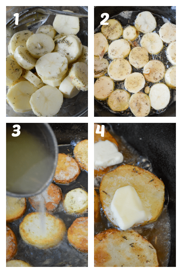 Melting Potatoes How To