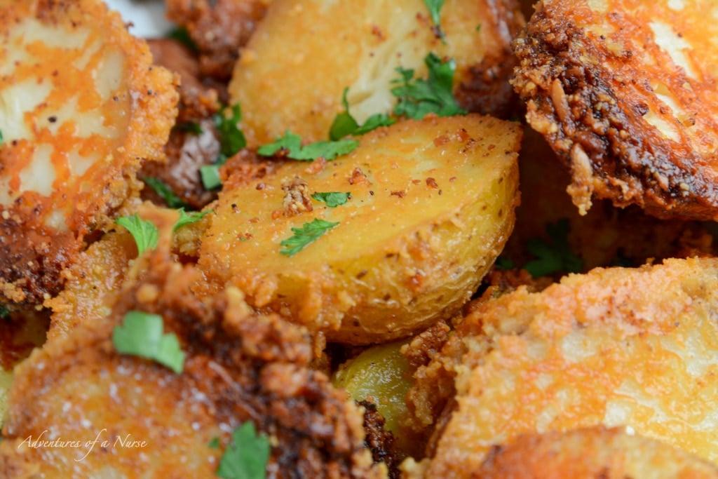 Crusted Potatoes