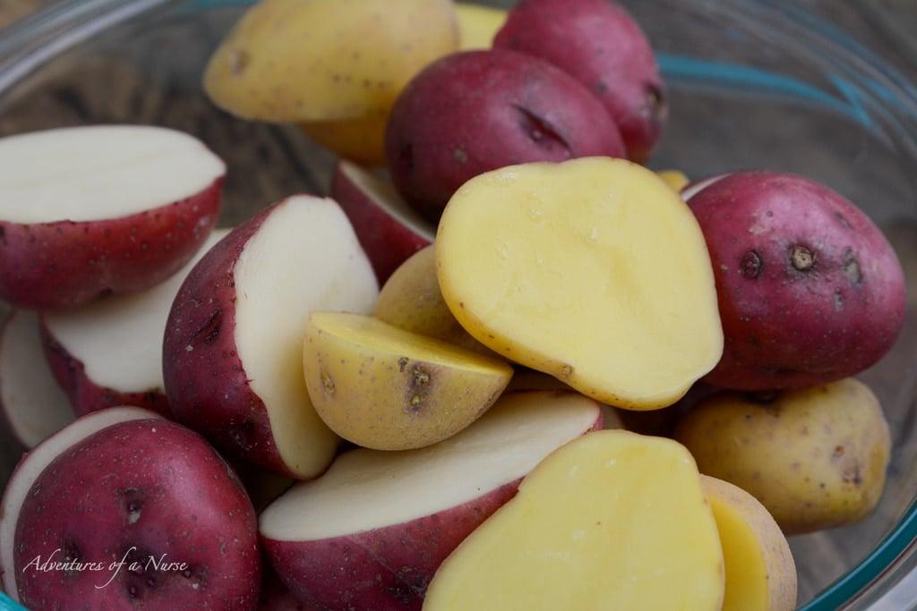 Cut Potatoes