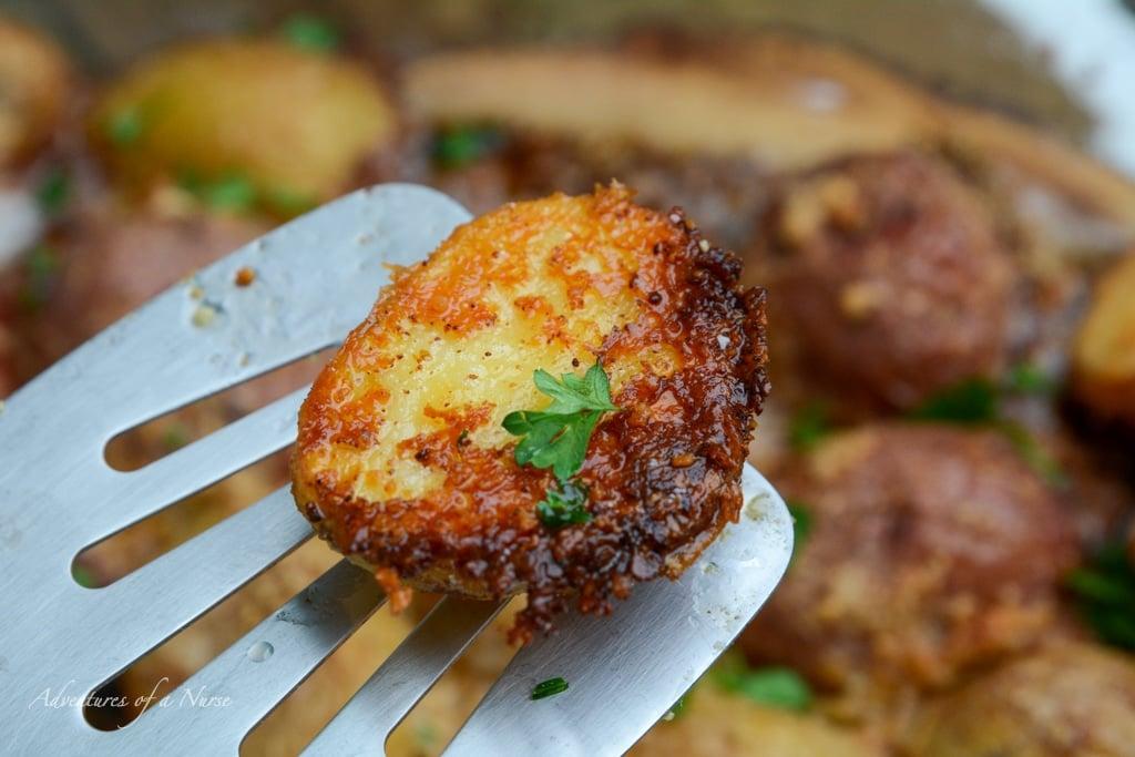Parmesan Crusted Potato