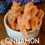 Taco Bell Copy Cat Cinnamon Twists