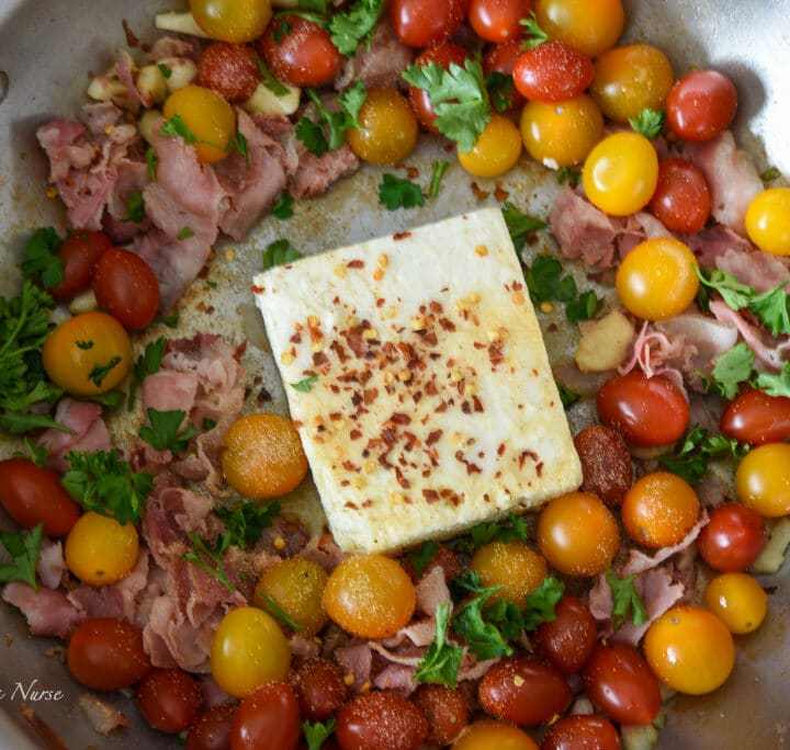 Feta Cheese and seasonings