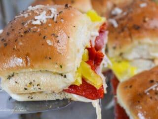 Italian Slider Recipe