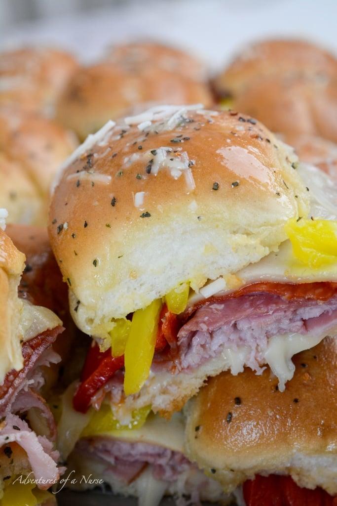 Italian Slider Sandwich