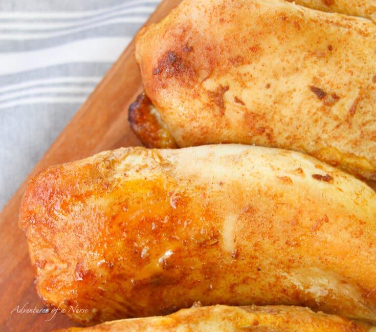 Chicken marinated