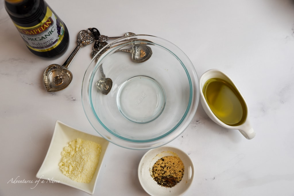 ingredients for homemade dressing
