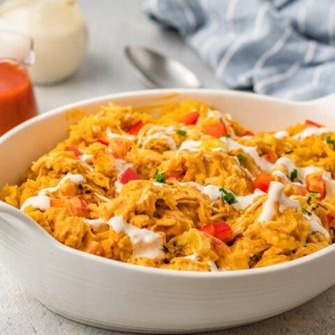 Chicken Spaghetti Squash Air Fryer