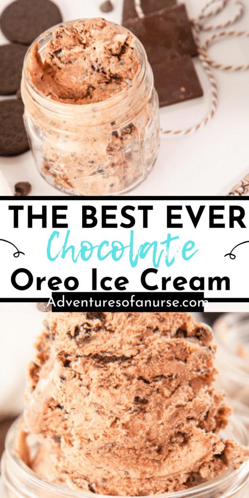 Oreo Chocolate Ice Cream