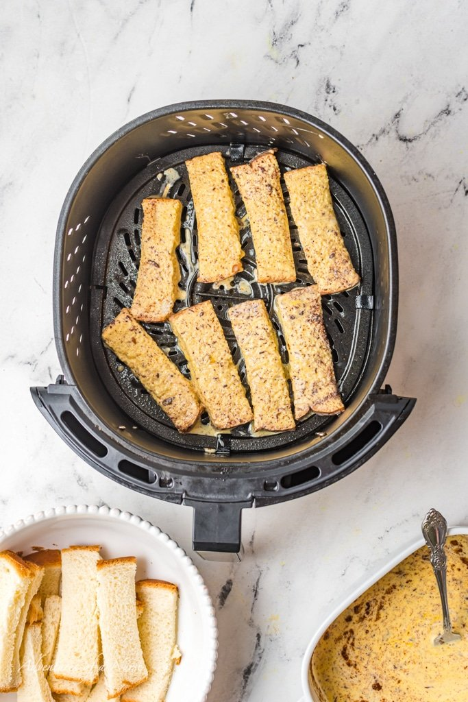 French Toast Strips in air Fryer