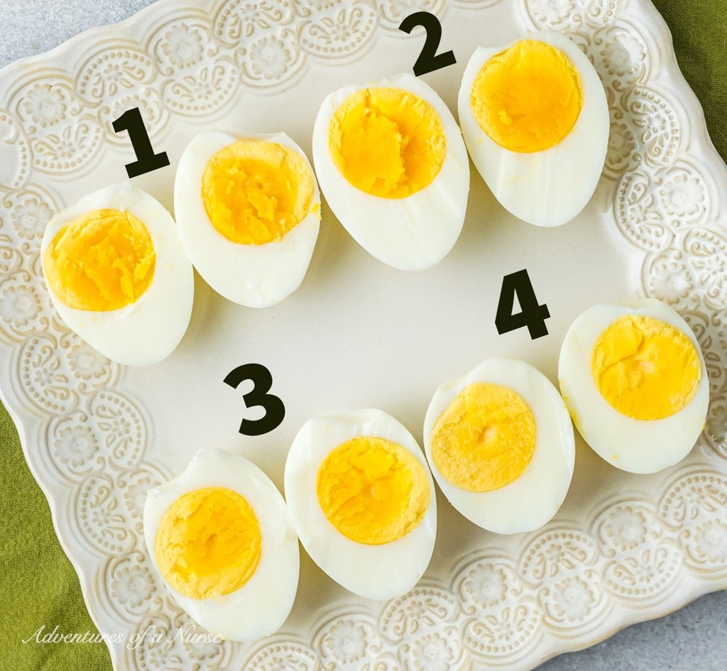 Boiled Eggs done
