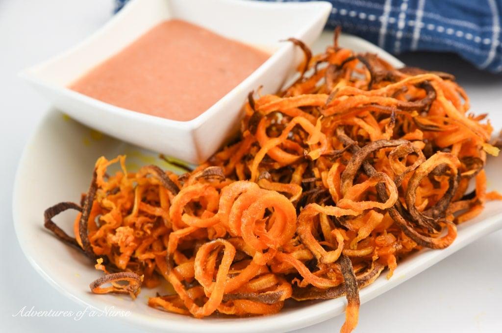 Curly Sweet Potato Fries