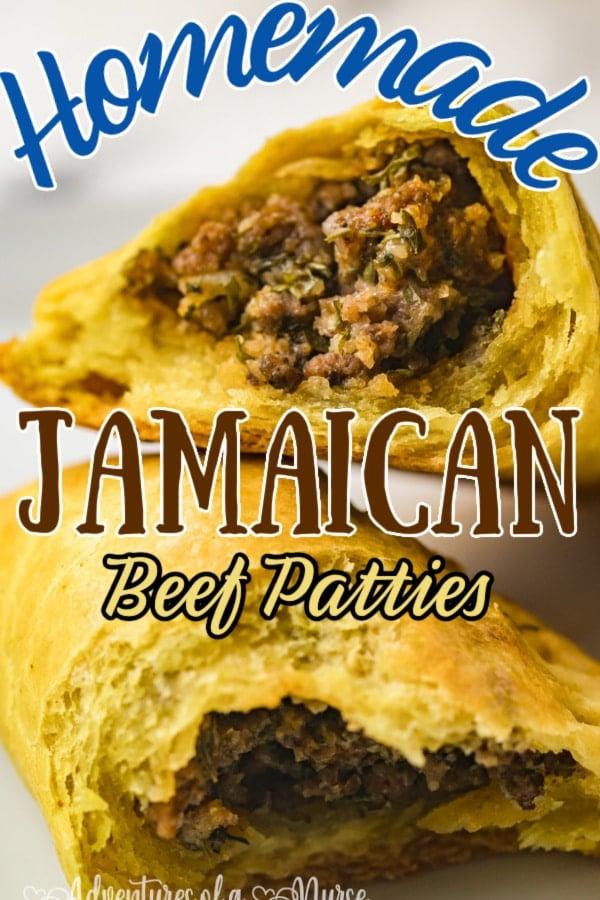 Homemade Jamaican Beef Patties