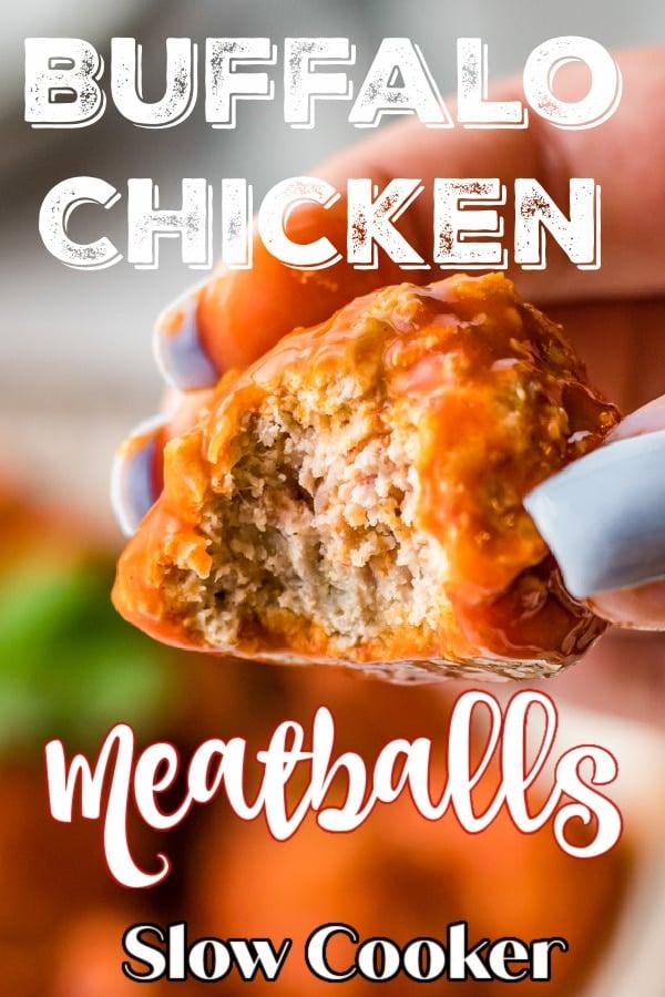 Slow Cooker Buffalo Meatballs